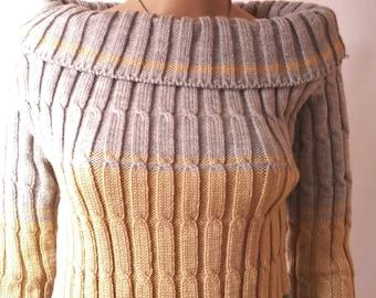 Sweater handmade woman