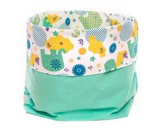 Accessories storage bag right holder storage box fabric basket