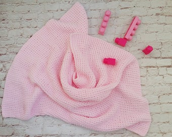 Baby blanked, newborn, Hand made, Knitted for baby