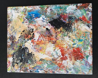 Abstract Art on 8x10 Canvas