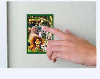 Madagascar- Lightswitch Cover