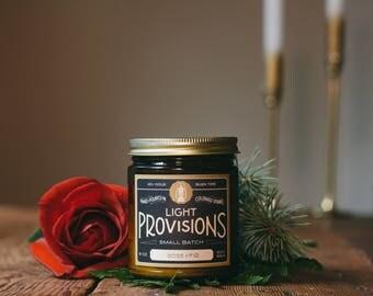 Rose + Fir candle - 9 oz