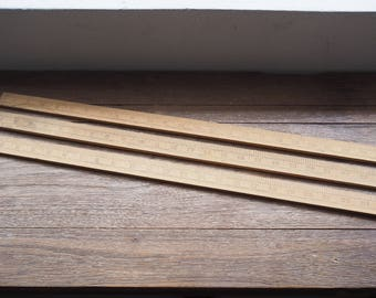 Wooden Ruler 24in