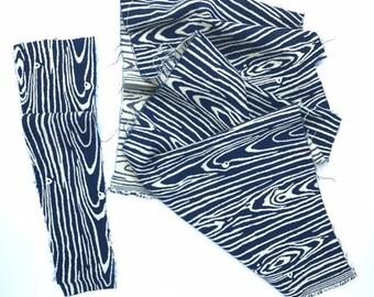 Woodgrain Fabric Remnant