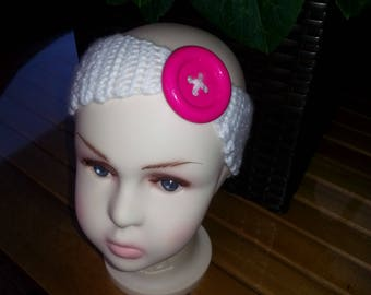 Cute Crocheted Baby Headband
