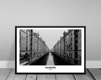 Hamburg - warehouse district