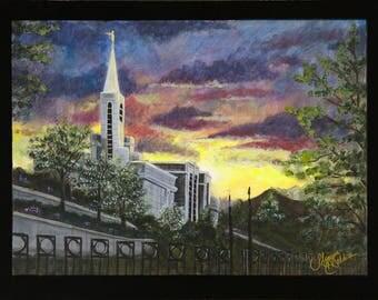 LDS Bountiful Temple