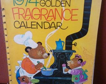 1974 fragrance calendar