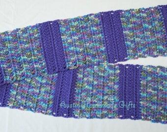 Purple Jewel Scarf
