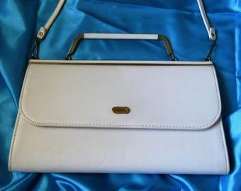 Vintage 1960's Handbag - White