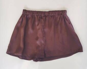 Boy Crush Shorts - Mauve Silk