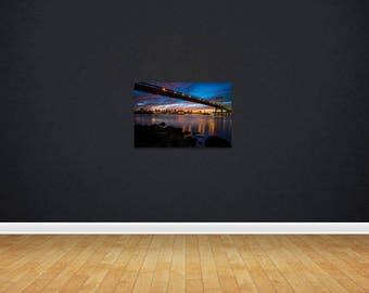 16 x 24 Print of Sunset from Astoria Park, New York City.