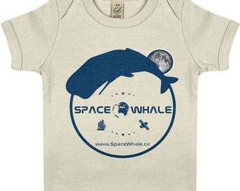 EarthPositive Organic Baby Lap T-shirt: Moby's Indigo Luna