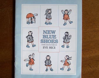 New Blue Shoes by Eve Rice - Children's Book