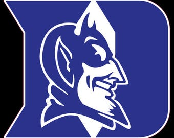 "Duke University Blue Devils Tide 5"" to 11"" FULL COLOR vinyl decal sticker"