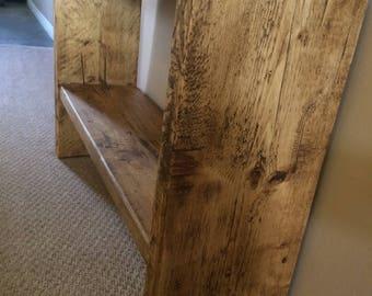 Handmade Rustic Shoe Rack/ Stand/ Storage