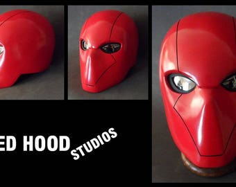 Red Hood Cosplay Helmet