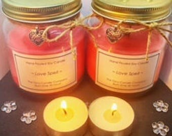 Love Spell 220g Jar Candle