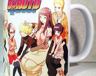 BORUTO - Coffee Mug - Cup - NARUTO Shippuuden - Anime - Manga - Gift