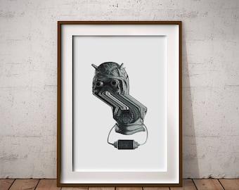 Tusken Raider Art Print