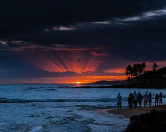 Last Light in Hawaii