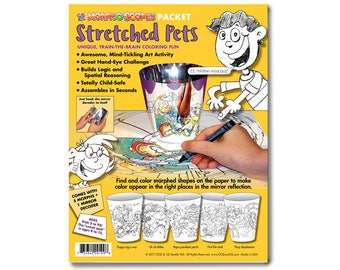 Kids' Pets Coloring Pages, a new twist on coloring books. Printable pages make fun kids' party activities and favors, too!