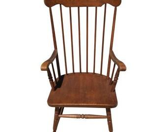 Vintage Rocking Chair - Brown