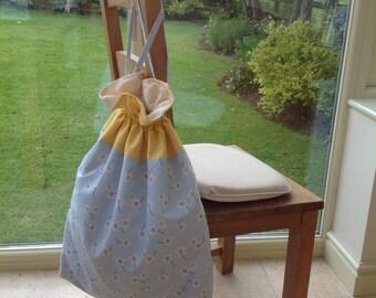 Drawstring storage bag, Laundry bag, Nappy sack