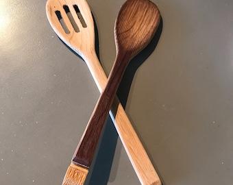 Wine Barrel Wooden Spoons