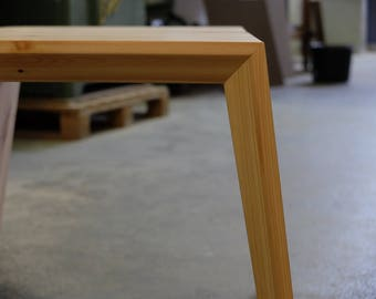Slim legged sidetables