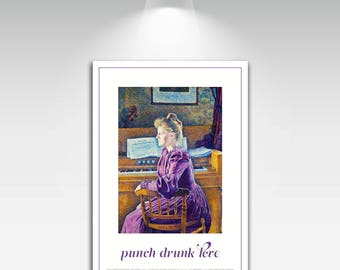 Creative Briefs Poster for Punch Drunk Love Art Print on Canvas Home Wall Decor