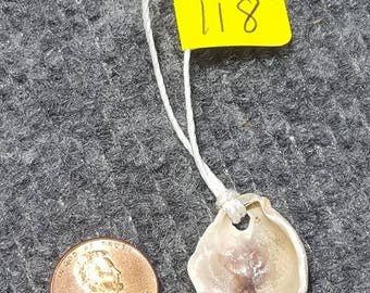 Oyster Shell Necklace (118)