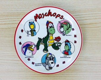 Moschops Collectible Plate