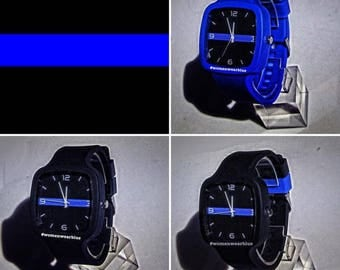 Thin Blue Line Watch  (Two Watches) Pay it Forward
