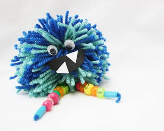 Pompom Monster Children's Craft Kit