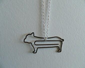 French Bulldog Bullterrier Necklace Pendant