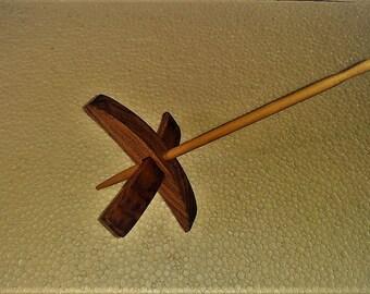 Handmade  Oak  Turkish  Spindle Whorl