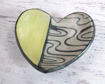 Small Heart Ring Dish