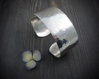 siren ... hammered sterling silver cuff