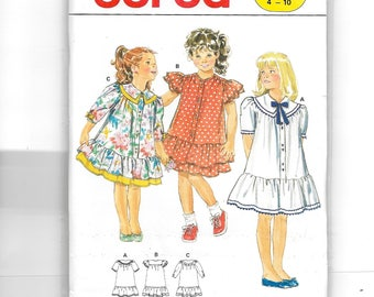 burda Child Dress Pattern 5159