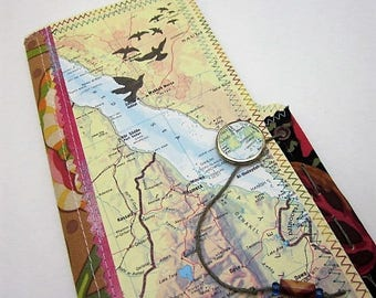 Travel Journal - Northern Africa - One of a kind hand crafted blank book