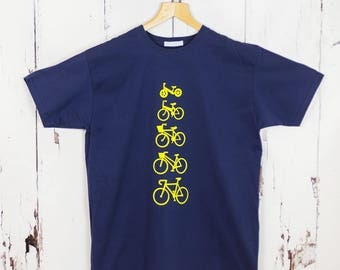 Personalised Cycling T shirt|Fathers Day Gift|personalised t shirt|cycling t shirt|dad t shirt|mens t shirt