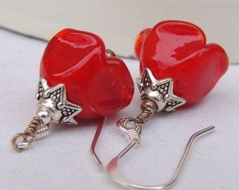 HOLIDAY BLOOMS Dangle Earrings