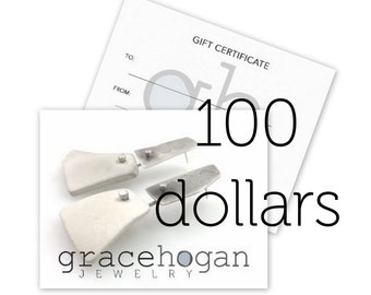 gift certificate for 100 dollars
