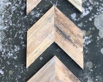 Wood Chevron Arrows Arrow Sign Rustic Arrow Wall Decor