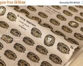 Japanese Fabric scrub brush hedgehogs - latte - 50cm