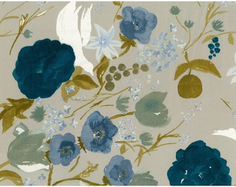 Nani Iro Kokka Japanese Fabric Fuccra : rakuen sateen - Amalfi - 50cm