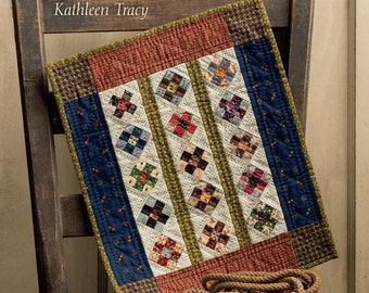 Small & Scrappy, small quilt pattern book by Kathleen Tracy