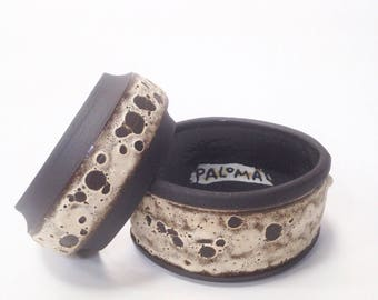 Ships Now- one Crater Cuff, size small. Sarapaloma