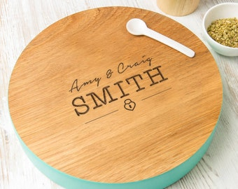 Personalised Images Wedding Solid Wooden Board